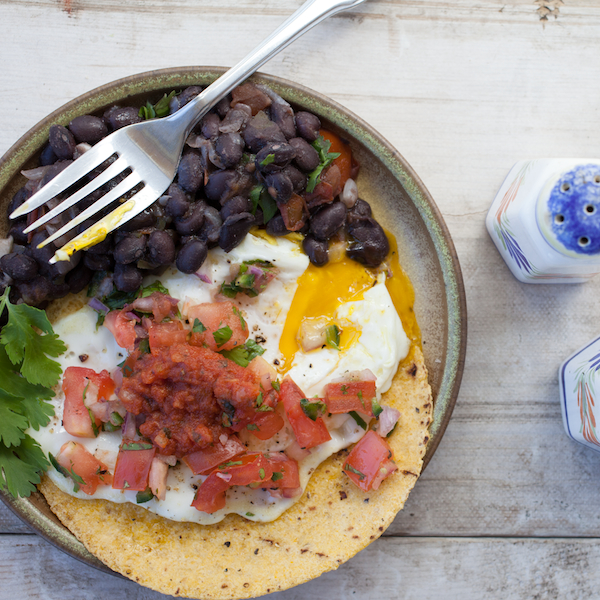 black beans breakfast 2