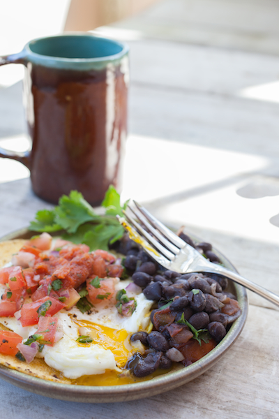 black beans breakfast