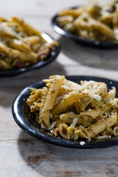 Broccoli and Pine Nut Pasta